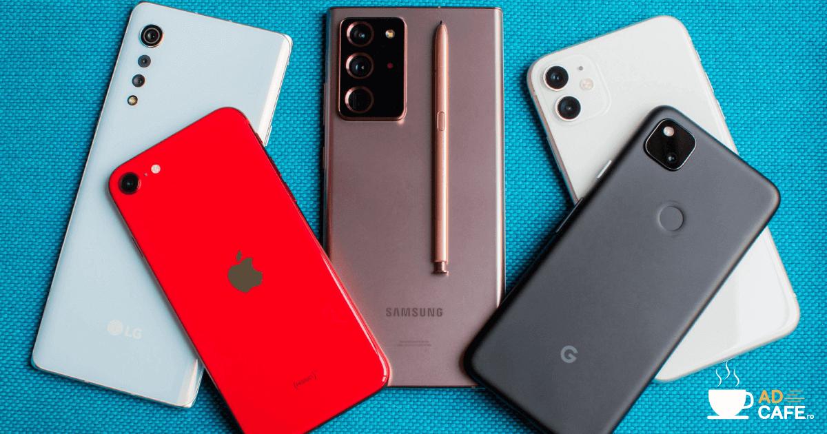 TOP 10 cele mai vandute telefoane in 2020