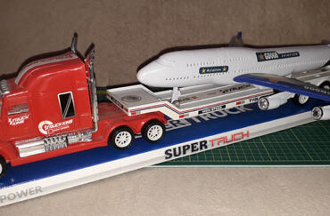 Masina cu avion pentru baieti
