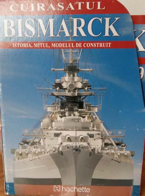 Vand macheta Bismarck pentru pasionati de navomodelism
