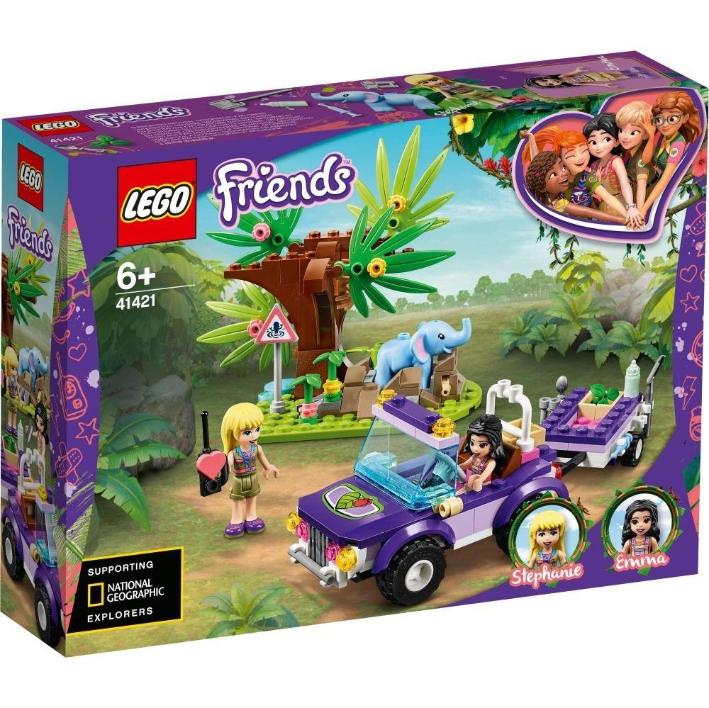 LEGO Friends Salvarea puiului de elefant din jungla
